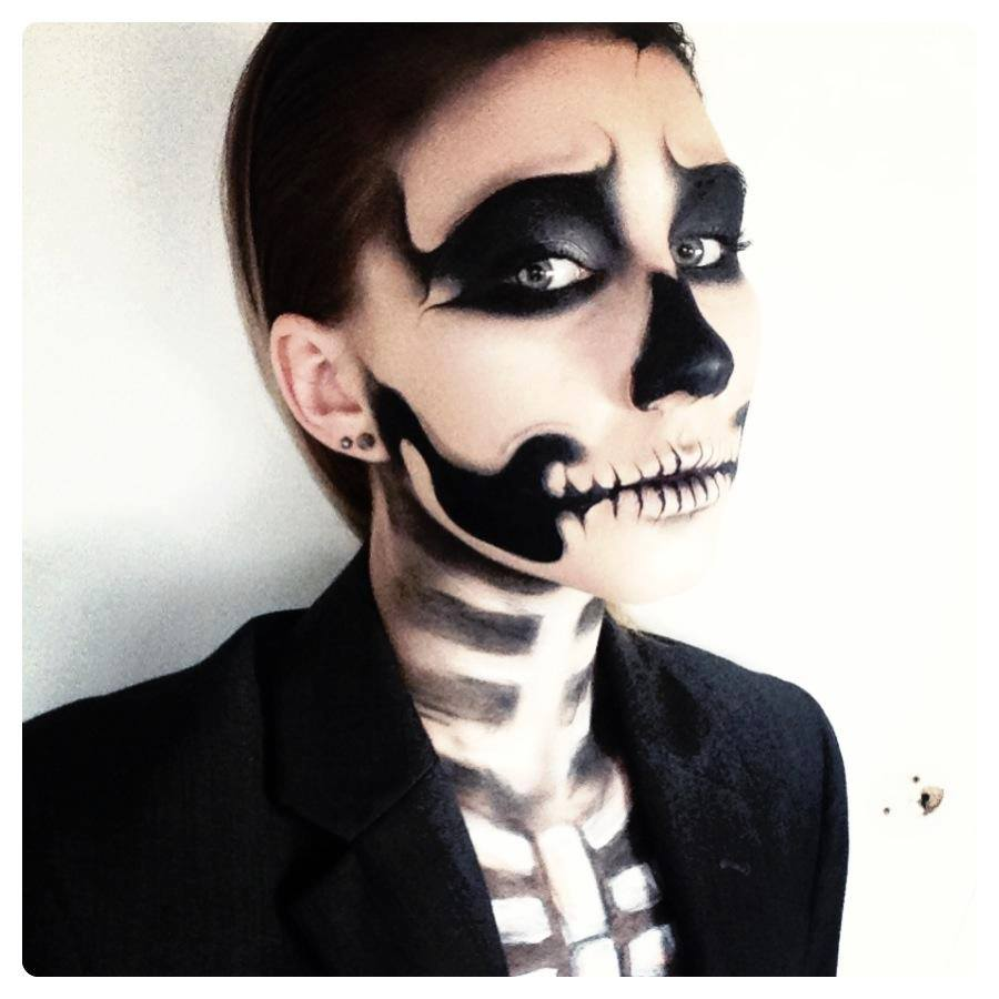 Skull makeup by Morganne Foster (2)
