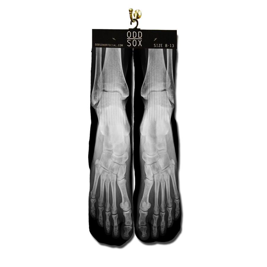 X-Ray Skeleton Socks (2)
