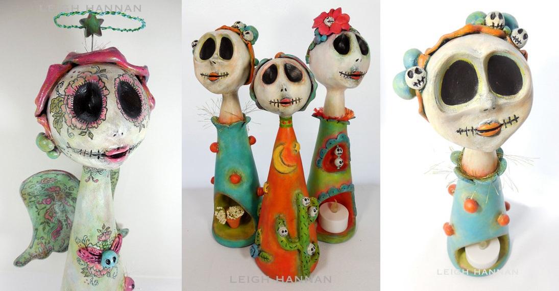 Leigh Hannan Skull Artwork