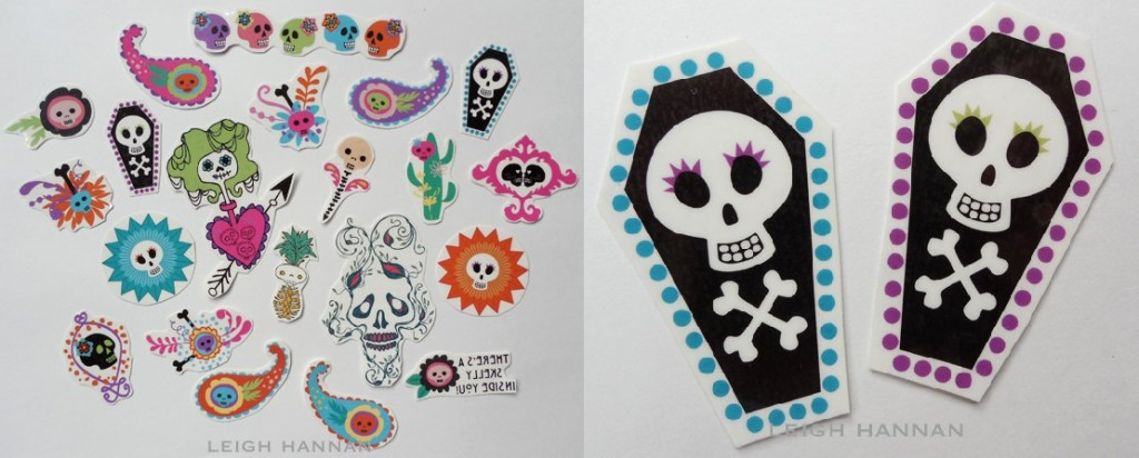 Leigh Hannan temporary tattoos