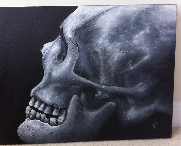 Skull Art by Valeriya