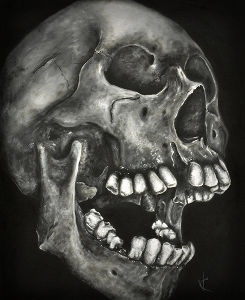 Skull Art by Valeriya