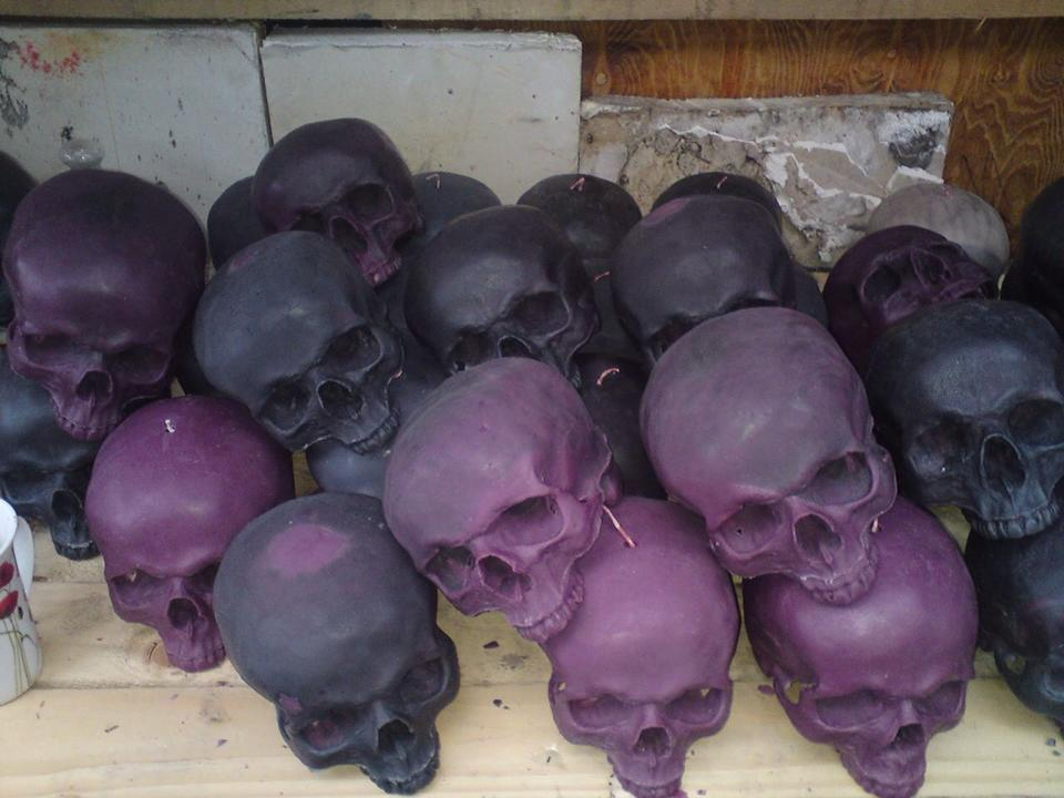 Skull Candles of London (2)