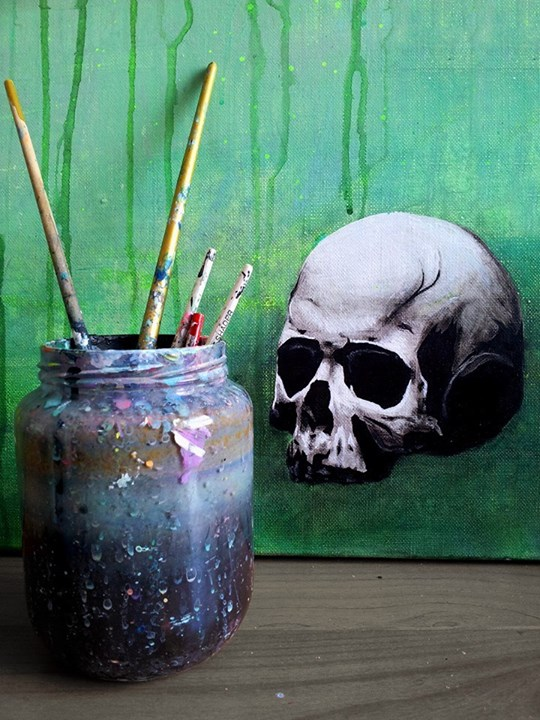 Skull Paintings by Thomas Mainardi (2)