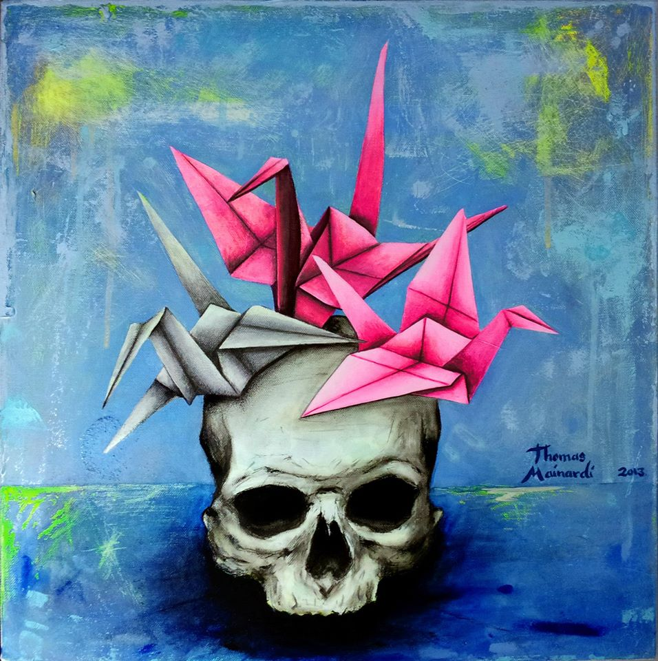 Skull Paintings by Thomas Mainardi