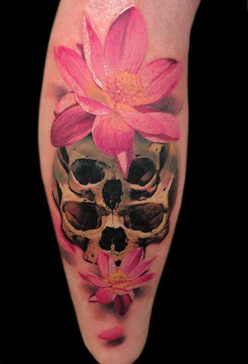 Skull Tattoos by Alex de Pase