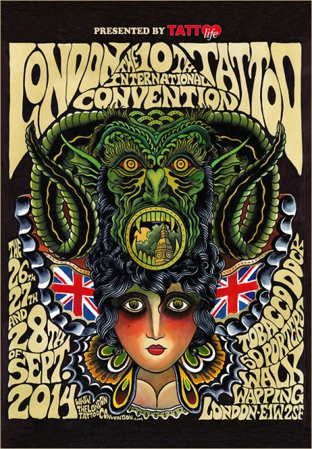 The 10th International London Tattoo Convention 2014