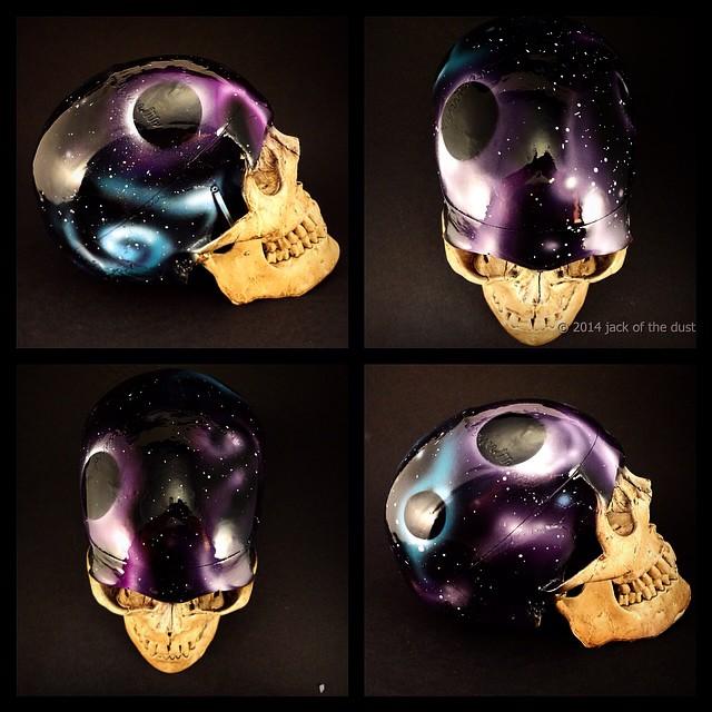 the universe skull