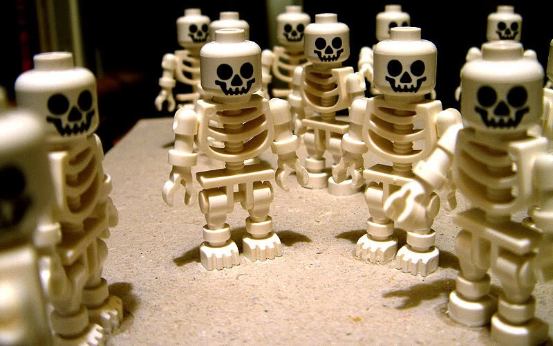 LEGO Skeleton Minifigures