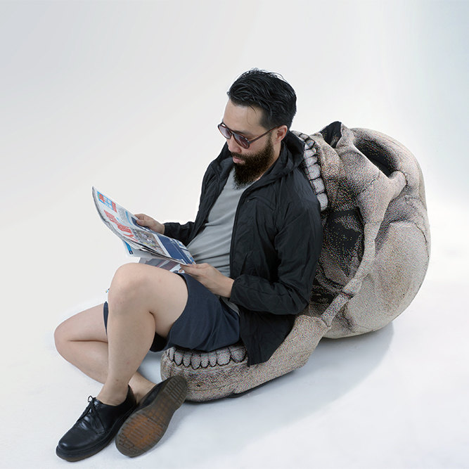 Skull Chair designed by Chic Sin Design