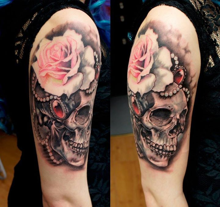 Skull Tattoos by Adem Senturk (2)