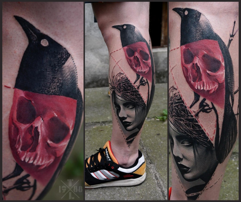 Skull Tattoos by Timur Lysenko (2)