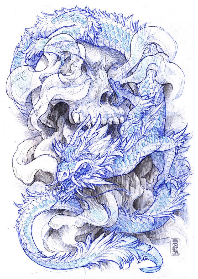 Tattoo sketches by Jainai Jeffries (2)