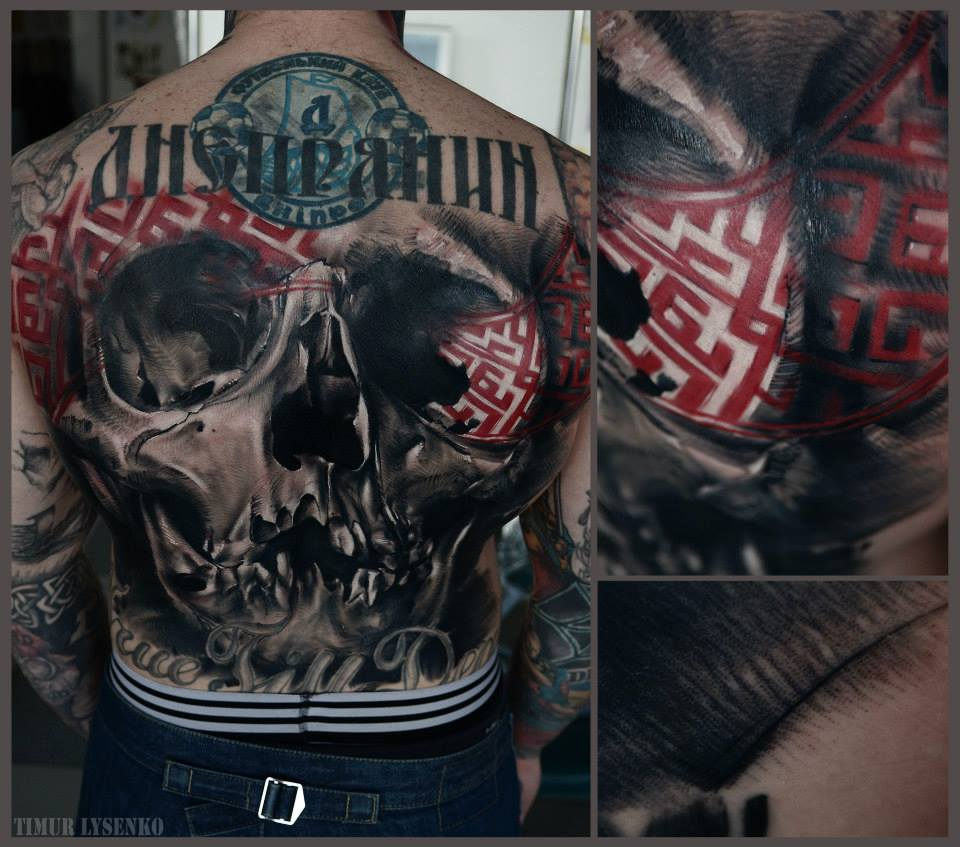 full back tattoo Timur Lysenko