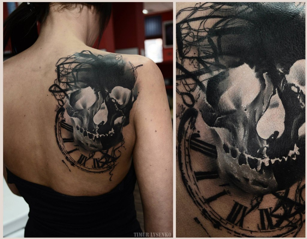 large skull tattoo (2)
