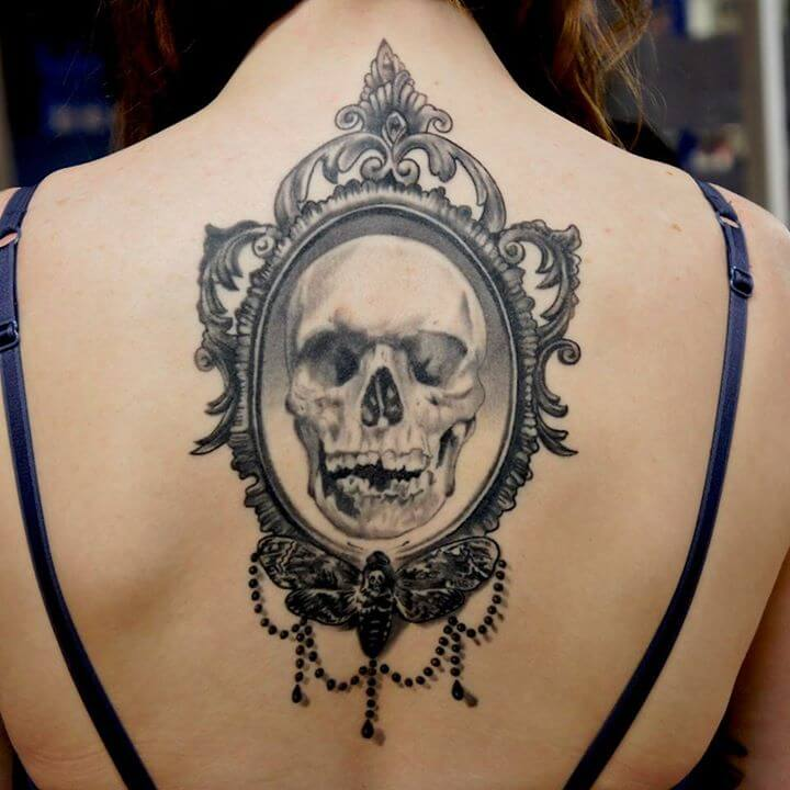 Skull Tattoos by Adem Senturk