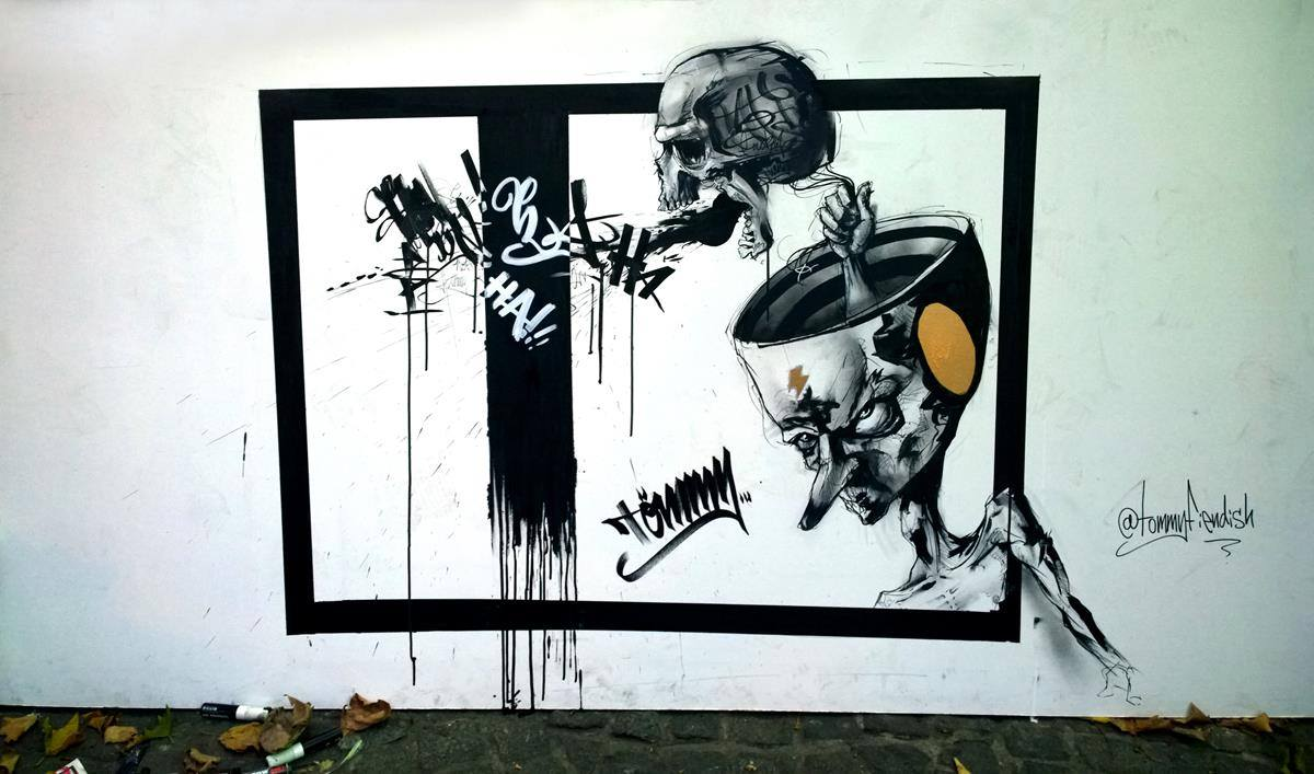 Street Art by Tommy Fiendish