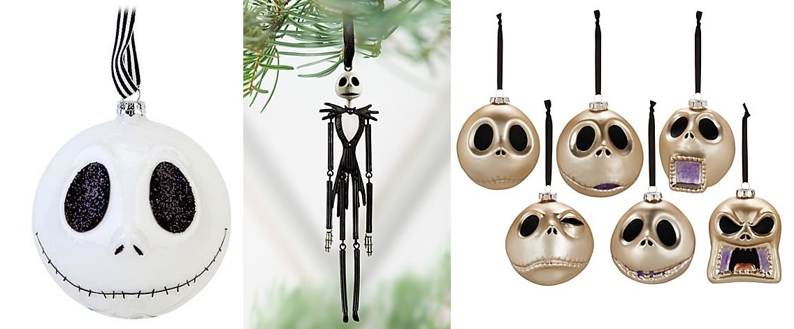 Christmas Jack Skellington decorations