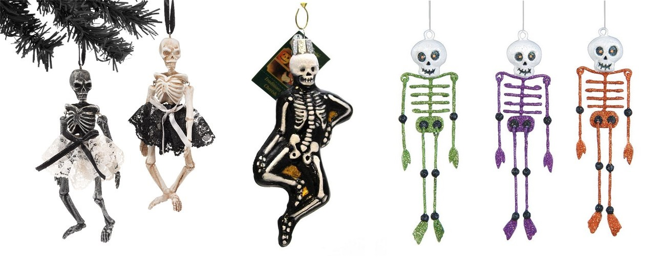 Christmas skeleton decorations