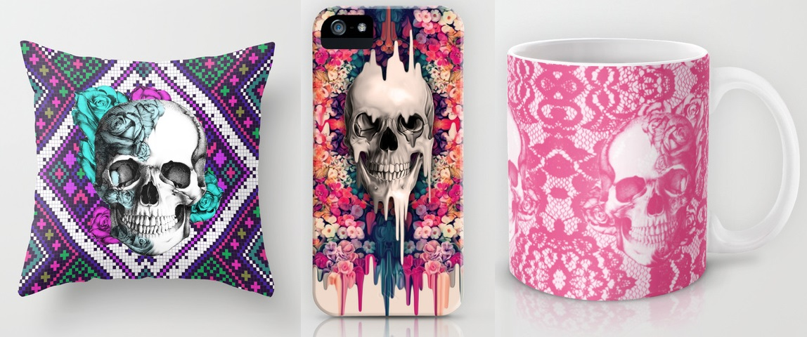 Kristy Patterson Skull Designs