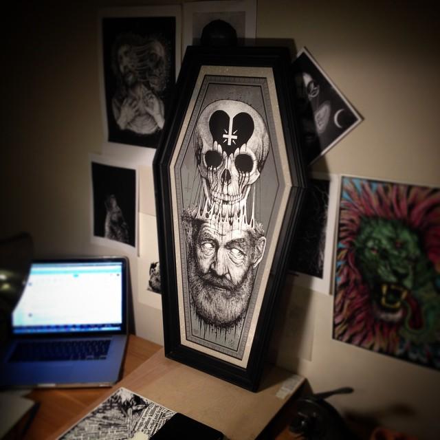 Skull illustrations by Paul Jackson (2)