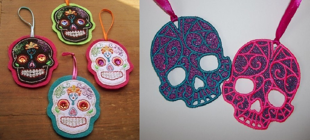 sugar skull decorations for christmas