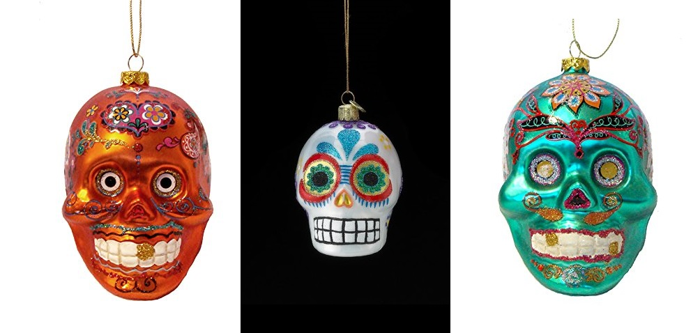 sugar skull decorations