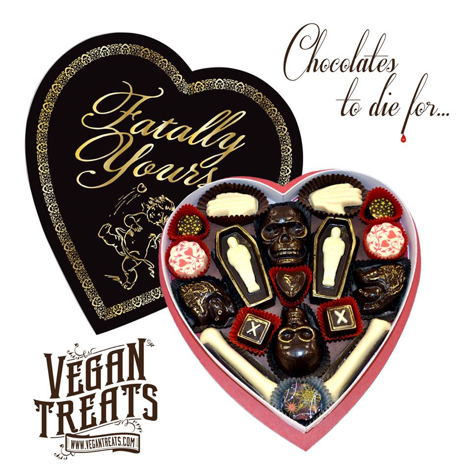 Fatally Yours Gourmet Chocolate Box