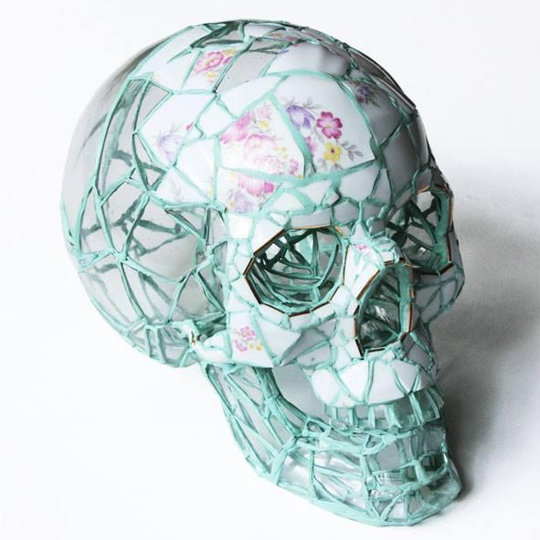 Mosaic Skulls of Andrés Basurto