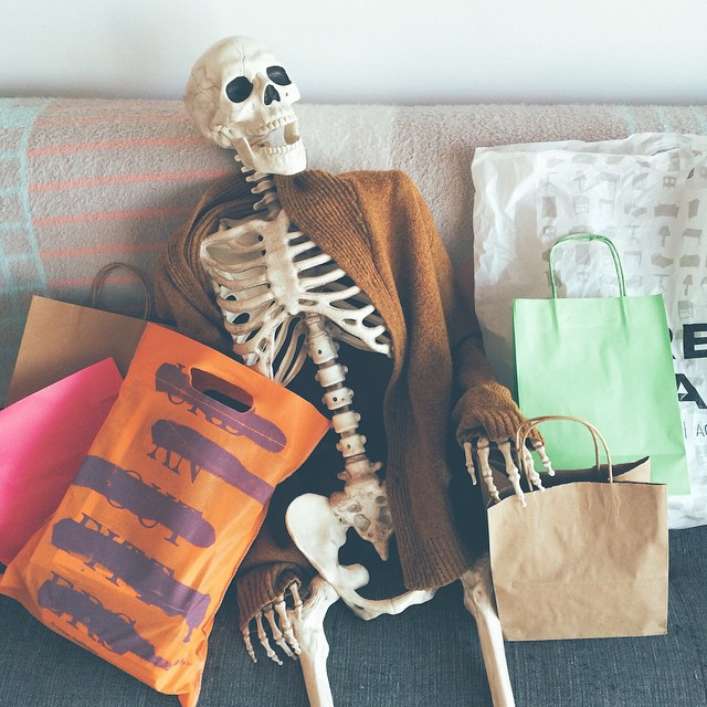 Skellie shopping