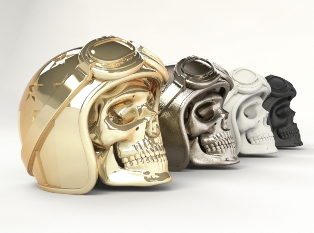 Easy Rider Skull by Urbano Rodriguez