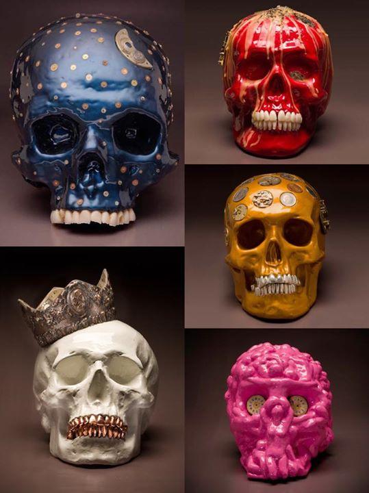 Kpavio skulls