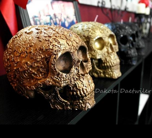 Skull Candles by Dakota's Design (2)