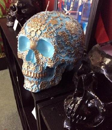 Skull Candles by Dakota's Design (3)