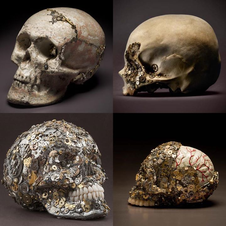 Skulls by Kpavio (2)