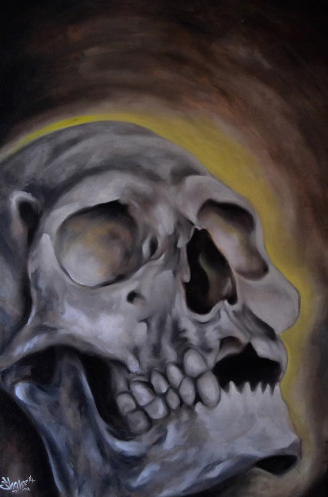 Glowing skull  - Shane DRK