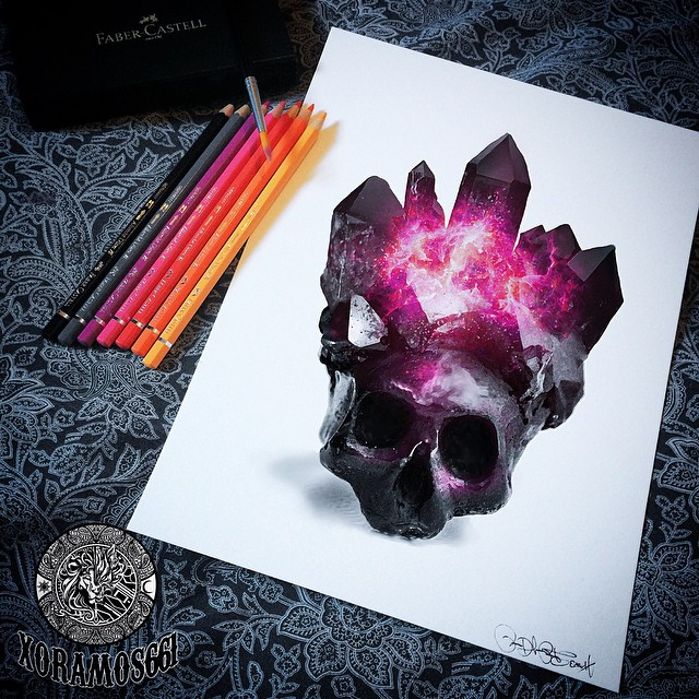 Skull Drawings by Ruben WestSide Ramos