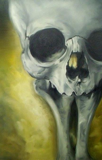Skull Paintings by Shane DRK (2)