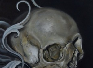 Skull Paintings by Shane DRK
