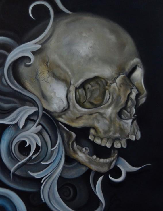 Skull Paintings by Shane DRK