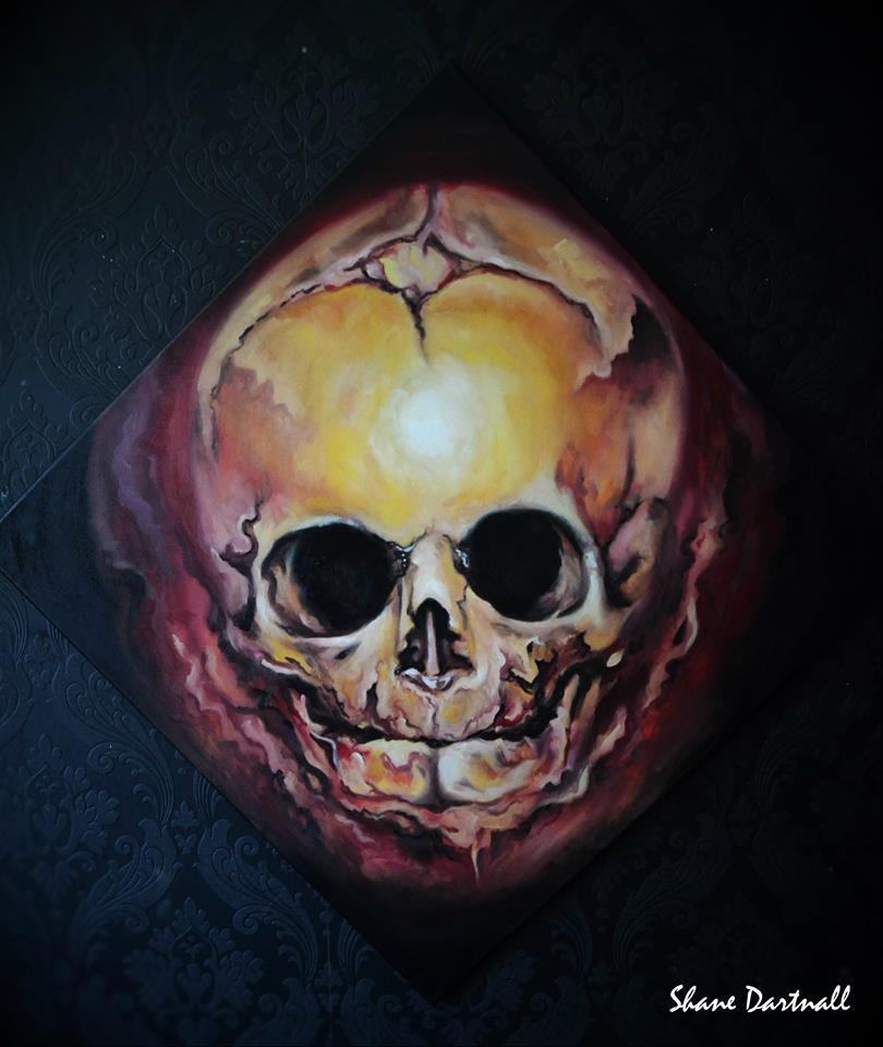 Skull of fire  - Shane DRK