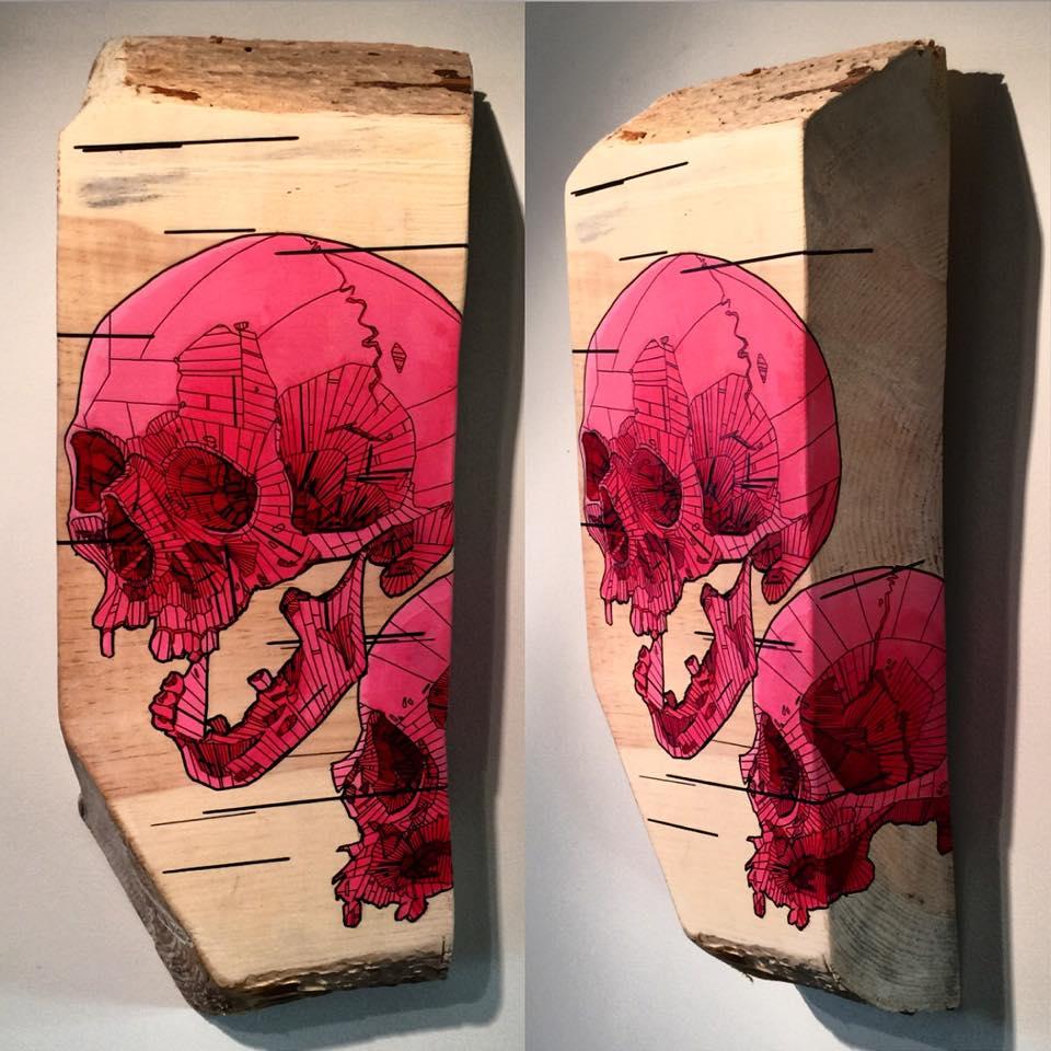 Skeletal Series by Chris Austin Art (2)