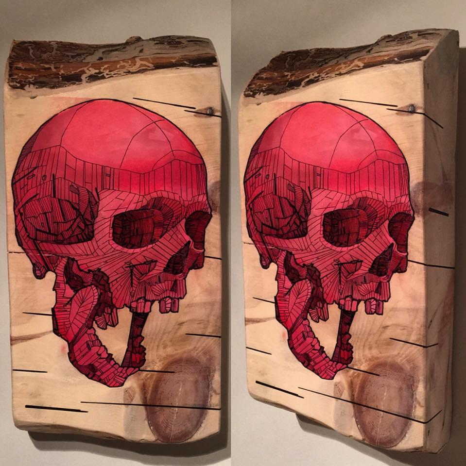 Skeletal Series by Chris Austin Art