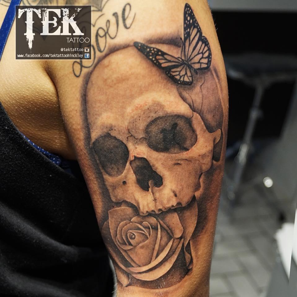 Skull Tattoos by Wojtek Taczala (2)