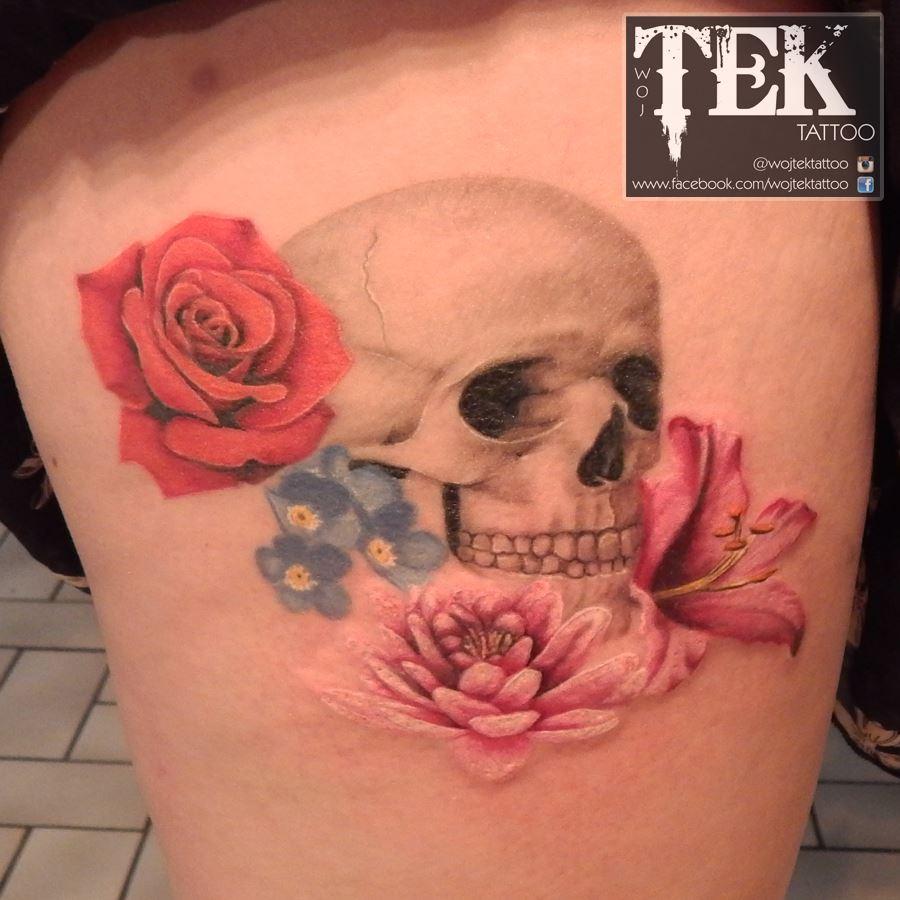 Wojtek Taczala tattoo