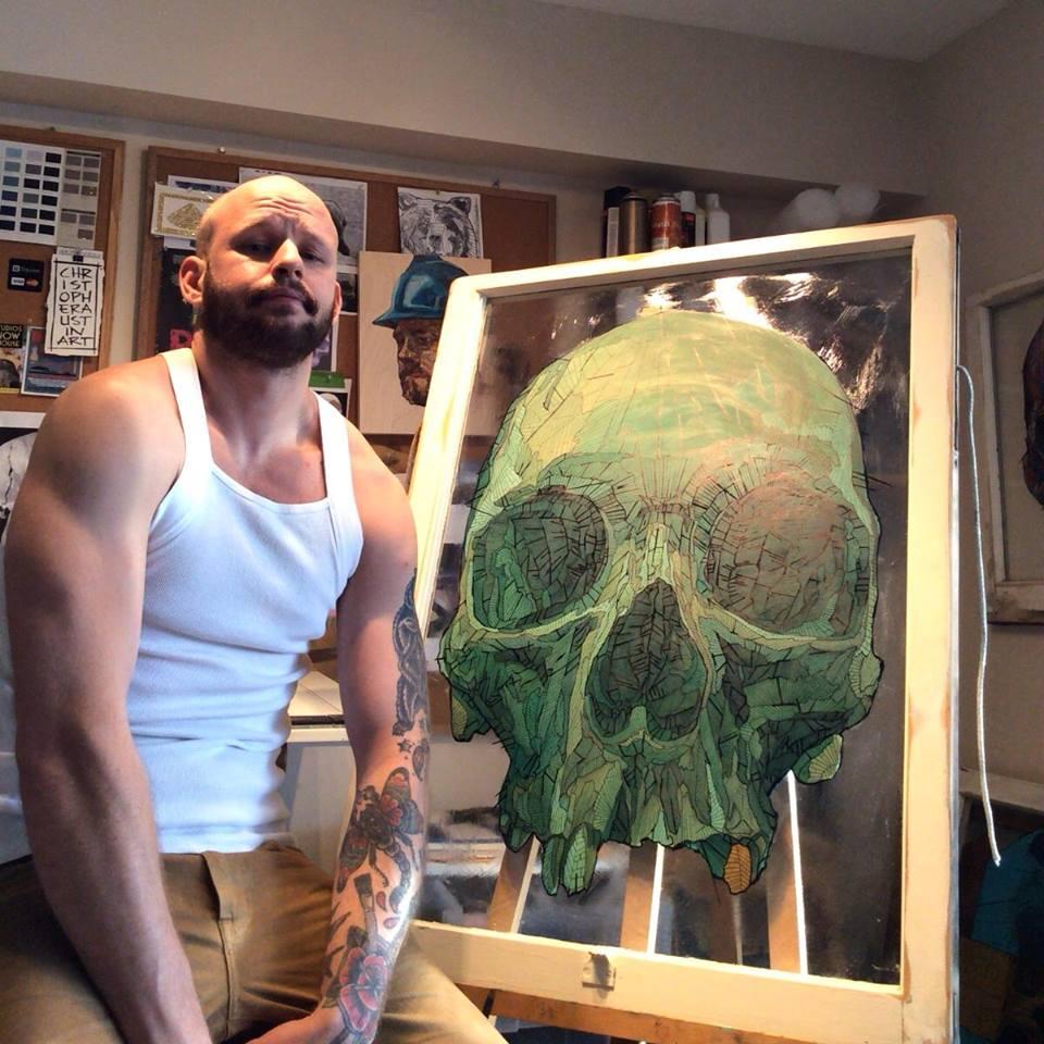skull by Chris Austin Art (5)