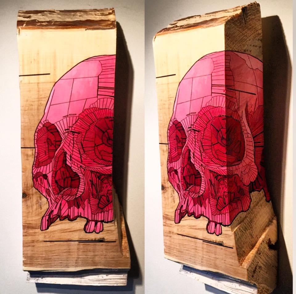 skull by Chris Austin Art