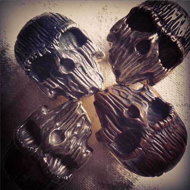 Skull Rings by Chris Anderson (2)