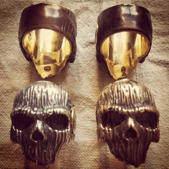 Skull Rings by Chris Anderson