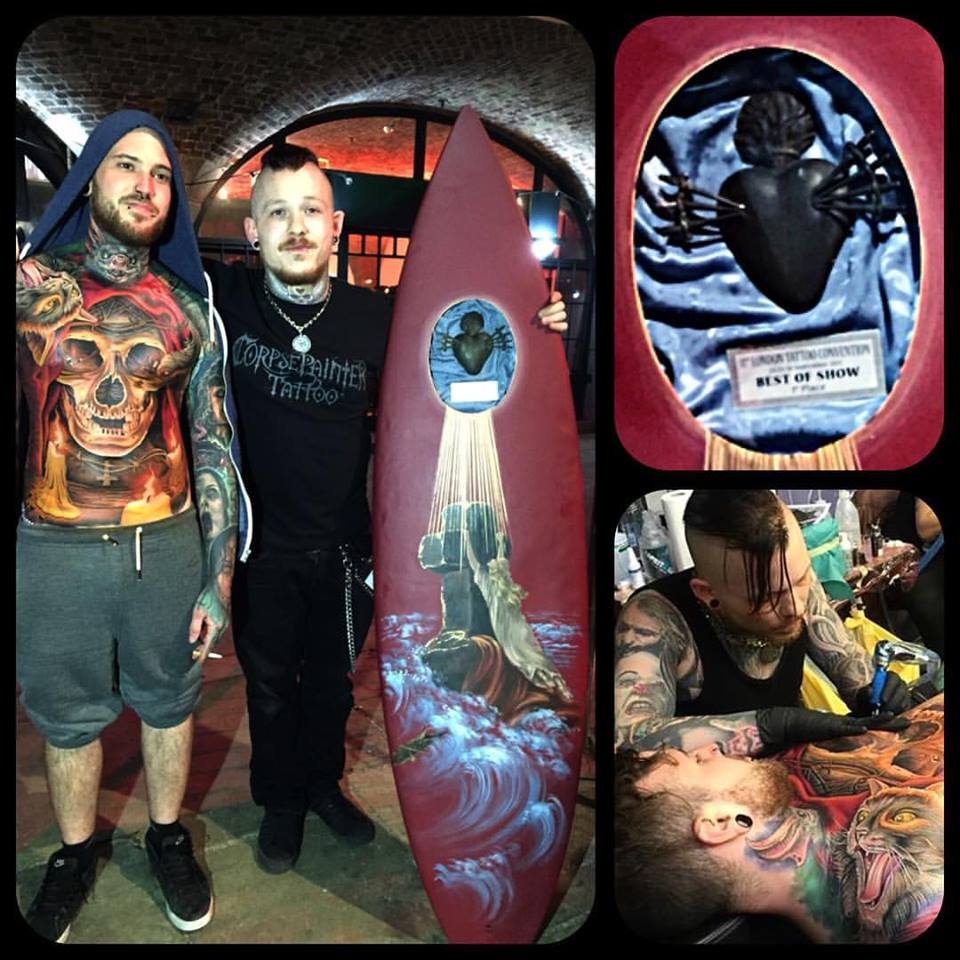1st place Best of Show 11th London Tattoo Convention 2015
